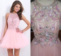 8th Grade Pink Graduation Homecoming Dresses For 2015 Sweet ...