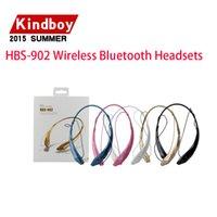 2015 meilleur HBS-902 sans Fil Bluetooth Casques RSE 4.0 8635chip Écouteur casque Sport tour de cou pour iphone Samsung Universel