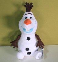 "10"" Frozen Olaf Plush Action Figures 25cm Stuffed Snowm..."