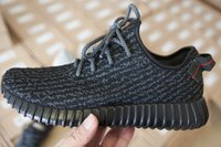 Hot Selling Yeezy 350 Boost Pirate Black Running Shoes Athle...