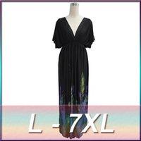 plus size dress 5xl ice