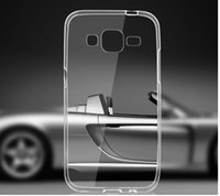 Ultra Thin Crystal Clear Soft TPU case cover For Samsung Gal...