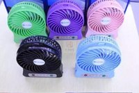 Free DHL new lileng- 830 Portable Mini USB Fan Operated w  LE...