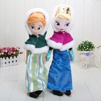 40cm Frozen Winter Anna Elsa Plush Dolls Princess Doll Froze...