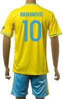 wholesale Customized 15- 16 new season Spain home 10 IBRAHIMO...