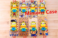 3D Despicable Me Minion Soft Silicone Gel Case Cover for App...