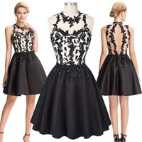 Grace Karin Chic Short Black Cocktail Dress Sexy Back Party ...