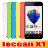 Hot Sale IOCEAN X1 Mobile Phone Android 4. 4 MTK6582 Quad Cor...