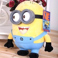 3D Plastic Eyes Yellow Doll Plush Toys Creative Minions Keep...