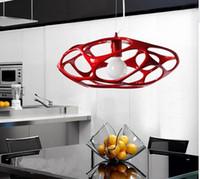 novel creative design resin pendant lamp for dining room res...