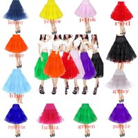 2015 Girls Women Petticoats Underskirt A Line Short Petticoa...