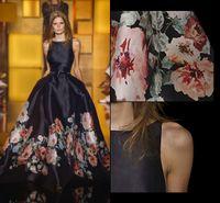 2016 Spring Summer Elie Saab Dresses Vintage A Line Satin Ev...