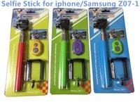 Bluetooth Remote Shutter Phone Clip Monopod blister kit Z07-...