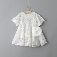 baby girl kids lace dress embroidery dress crochet dress 3D ...