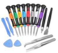 16 в 1 Ремонт Разожмите Инструменты Набор отверток Kit Precision для Apple iPhone 6 5 4S IPad 4 Samsung