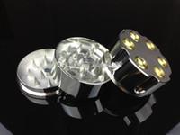 Sharpstone Pushclean Grinder téflon spéciale anneau de O meuleuse aluminium conçu par des machines CNC hautement sophistiqués Herb Grinder tabac