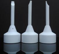 de haute qualité en céramique domeless ongles capuchon de carb cermaic remplacement de l'outil de la bobine pour Bong de verre tête Livraison gratuite !!