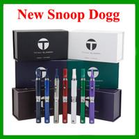 Titan más delgado Kit Kit de vaporizador Kit de cigarrillo electrónico Kit de vapor seco del tanque de la hierba 7 colores disponibles Envío gratuito