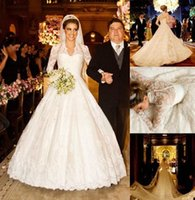 Cheap Vestidos De Noiva 2015 Wedding Dresses White Winter Lo...