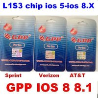 Newest GPP 4S turbo Sim Unlock card for iPhone 4S L1S3 chip ...