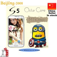 S5 SM- G900 Phone MTK6592 Octa Core 2GB Ram 16MP camera Real ...