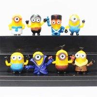8pcs set Despicable Me 3 minions Figure Toy Movie Character ...