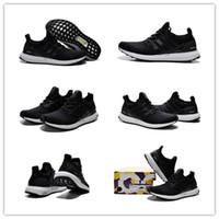 2015 Style Originals Ultra Boost Black Men' s Sports Run...