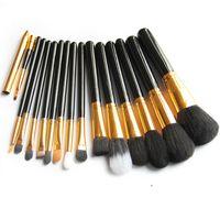 Professional High Quality 15pcs Makeup Brush Set & Kit Powde...