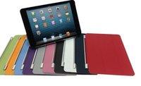 Slim Magnético Frente Smart Cover de Cuero de la PU funda para Tablet para iPad de Aire 2 para iPad 6