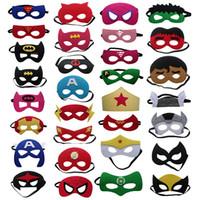 DHL Free Superhero Star Wars Frozen Masks Batman Spiderman M...