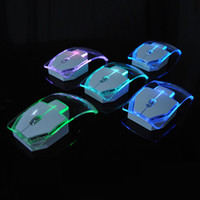 2. 4G Wireless Mouse Silent Gamer Transparent LED Ultra- thin ...