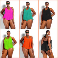 2015 Swimwear Plus Size Women Sexy One Piece Fringe Swimsuit...