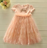 Korean Girl' s Dress Lace Tutu Princess Girls Dresses Lo...