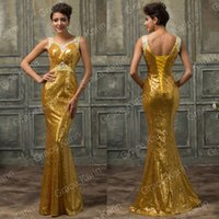 Grace Karin April Wedding Design Long Mermaid Formal Prom Br...