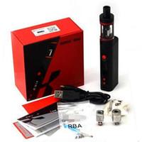 100% auténtico Kang Subox Mini Starter Kit vaporizador Kangertech 0.3ohm OCC depósito secundario Mini pluma vaporizador e cigs cigarrillos electrónicos 50W KBOX