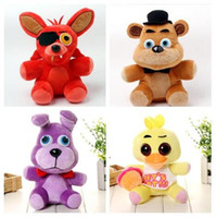 8pcs fashion 4 design five nights at freddy' s bear fred...