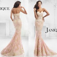 2015 Janique Backless Formal Evening Dresses Sexy Sweetheart...