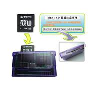 1pcs Livraison gratuite pour SuperCard mini sd avec carte SD pour GBA cartouche avec adaptateur MiniSD Free USB Reader Kid Gift