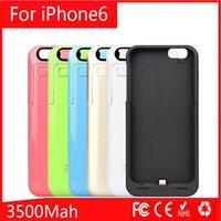 iPhone6 4. 7' ' Power Bank Case Rechargerbale Flip L...