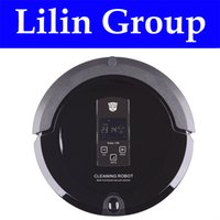 Robot Vacuum Cleaner (Sweep, Vacuum, Mop, Sterilize), LCD Touch ...