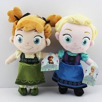 In Stock ! Frozen New childhood Plush Elsa Anna baby plush S...