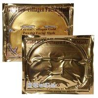 Factory Price Gold Bio- Collagen Facial Mask Face Mask Crysta...