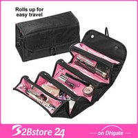 Roll N Go Travel Buddy Cosmetic Bag And Travel Toiletry Orga...