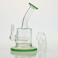 20pcs lot Wholesale Inline Percs Mini Glass Bongs Bent Tube ...