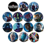New Movie Guardians Of The Galaxy Badge Button Pin 3. 7cm&5. 8...