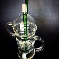 14.5mm Dabuccino Oil Rigs Limited Edition Dabuccino dab sablée verre similaire avec Hitman verre x Evol verre souffle de sable en verre Bongs tuyaux