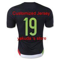 Mexico 15- 16 #19 O. PERALTA Thailand Soccer Jerseys on sale ...