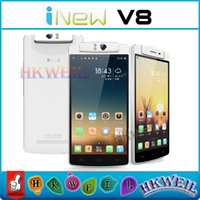 Original INew V8 Cell Phone MTK6591 Hexa Core Android 4. 4 1G...