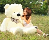 2016 High quality new 100cm giant teddy bear doll lover&#039...