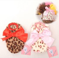 Mini Dog Pet Hoodie Clothes Poodle Bichons Hooded Fleece Leo...